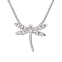 Dragonfly Pendant Necklace Take Flight | Annaleece Jewelry | 1268
