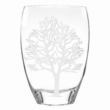 Tree of Life Glass Vase