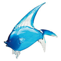 Tropical Fish Art Glass Sculpture