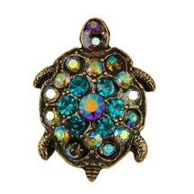 Turtle Leap Of Faith Pin | La Contessa Jewelry | LCPN9213