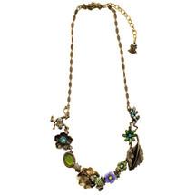 Frogs Asymmetrical Necklace | La Contessa Jewelry | LCNK9211