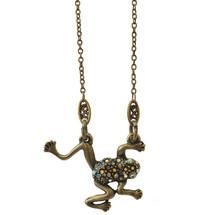 Frog Pendant Necklace | La Contessa Jewelry | LCNK9213