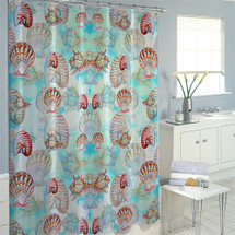 Shells Shower Curtain | Betsy Drake | BDSH094