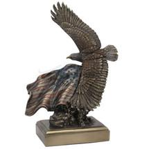 Bald Eagle Sculpture American Pride in Bronze Finish