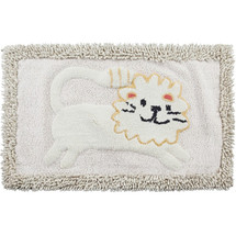 Lion Bath Rug Animal Crackers | Creative Bath | CBR1022