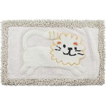Lion Bath Rug Animal Crackers | Creative Bath
