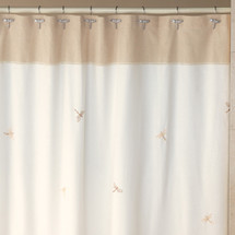 Dragonfly Shower Curtain & Hooks Set | Creative Bath