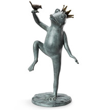 Frog Royal Dance Garden Sculpture | 34255 | SPI Home