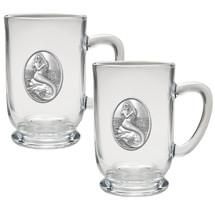 Mermaid Coffee Mug Set of 2 | Heritage Pewter | HPICM4272CL
