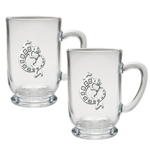 Gecko Coffee Mug Set of 2 | Heritage Pewter | HPICM4054CL