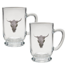 Longhorn Coffee Mug Set of 2 | Heritage Pewter | HPICM3270CL