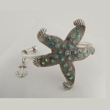 Starfish Cuff Bracelet | La Contessa Jewelry | BR8764