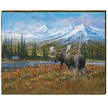 Moose Wood Wall Art 30x24 | Mill Wood Art | ZMOO1-30x24