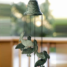 Pelican Wind Chime | 30488 | SPI Home