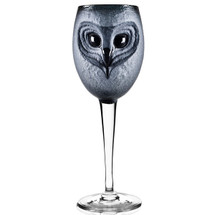 Owl Wine Glass Strix | 42038 | Mats Jonasson Maleras