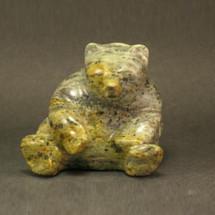 Bear Sitting Stone Sculpture | Douglas Creek