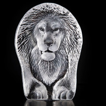 Lion Crystal Sculpture | 34189 | Mats Jonasson Maleras