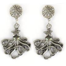 Octopus Drop Earrings | La Contessa Jewelry | Mary DeMarco | ER9340