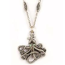 Octopus Starfish Necklace | La Contessa Jewelry | Mary DeMarco | NK9342