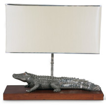 Alligator Lamp | Vagabond House | J770A