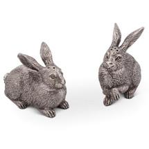 Rabbit Salt Pepper Shakers | Vagabond House | G116WH