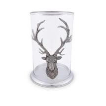 Elk Head Pillar Candle Holder | Vagabond House