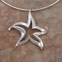 Starfish Pendant Necklace | Big Blue Jewelry | Roland St. John | SFSS-18