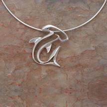 Hammerhead Shark Seaplicity Necklace | Big Blue Jewelry | HHSS-18
