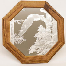 "Eagle Oak Mirror ""American Heritage"" 