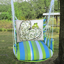 Frog and Heart Hammock Chair Swing | Magnolia Casual | BBRR605-SP -2
