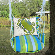 Crab Beach Hammock Chair Swing | Magnolia Casual | BBRR618-SP -2