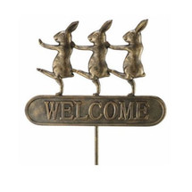 Parading Bunnies Welcome Sign | 33391 | SPI Home