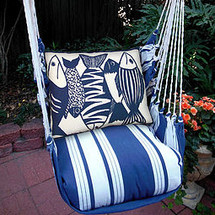 Fish Nautical Hammock Chair Swing | Magnolia Casual | MAFSB-SP -2