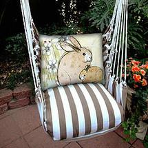 Bunny Rabbit Hammock Chair Swing | Magnolia Casual | SCRRBWF-SP -2