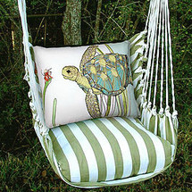 Sea Turtle Hammock Chair Swing | Magnolia Casual | SPRR502-SP -2