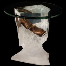 """Eagle End Table """"Between Earth and Sky""""   Starlite Originals   SO8537"""