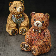 Teddy Bear Ceramic Figurine Set | De Rosa | Rinconada