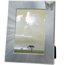 Butterfly 5x7 Photo Frame | Heritage Pewter | HPIFR3090LG