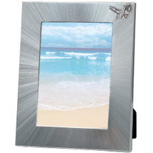 Hummingbird 5x7 Photo Frame | Heritage Pewter | HPIFR734LG