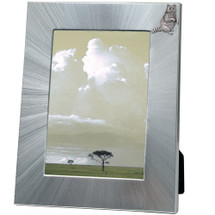Raccoon 5x7 Photo Frame | Heritage Pewter | HPIFR732LG