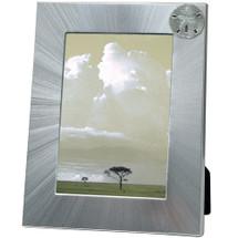Sand Dollar 5x7 Photo Frame | Heritage Pewter | HPIFR3041LG