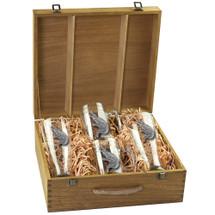 Alligator Beer Glass Boxed Set | Heritage Pewter | HPIBSB3770