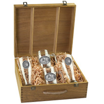 Lion Beer Glass Boxed Set | Heritage Pewter