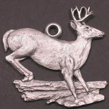 Whitetail Deer Pewter Ornament | Andy Schumann | SCHMC122164