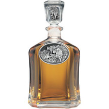 Mountain Goat Capitol Decanter | Heritage Pewter | HPICPT111