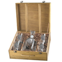 Mallard Duck Decanter Boxed Set | Heritage Pewter | HPICPTB122
