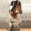"Horse Sculpture ""Sunka Wakan"" War Pony 
