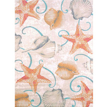 Starfish and Shells Area Rug    United Weavers   541-50417