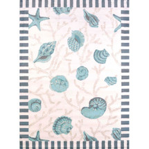 Blue Shells Area Rug | United Weavers | 541-50660