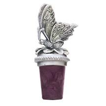Butterfly Bottle Stopper | Heritage Pewter | BS8508